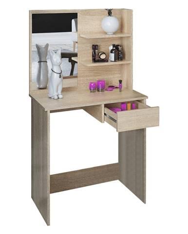 Toaletný stolík toaletka dub sonoma BELEZA