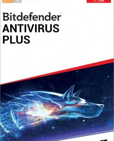 Bitdefender Antivirus Plus, 1 zařízení, 1 rok