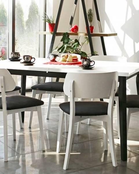 OKAY nábytok Jedálenský set Ombo-6x stolička,1x rozkladací stôl