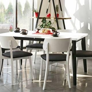 Jedálenský set Ombo-6x stolička,1x rozkladací stôl