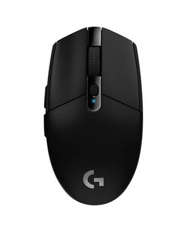 Herná bezdrôtová myš Logitech G305 Lightspeed, čierna