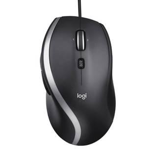 Káblová myš Logitech Advanced Corded MoM500s, čierna
