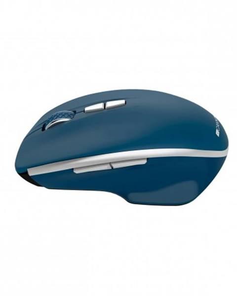 Canyon Bezdrôtová myš Canyon MW-21BL, 1600 dpi, 7 tl, modrá + Zdarma podložka Olpran