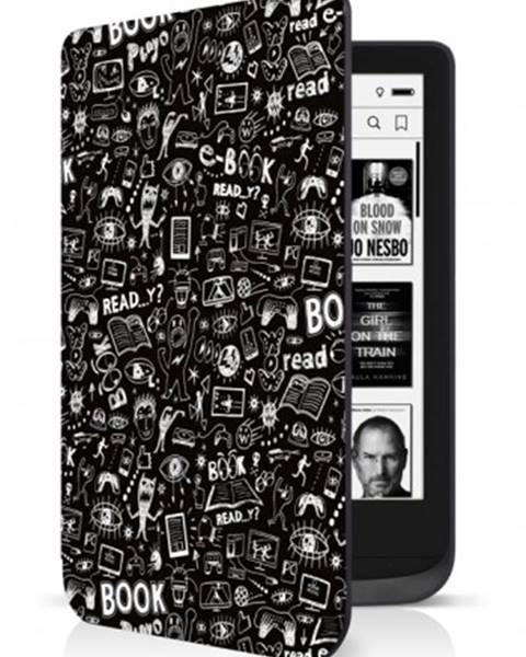 Connect IT Puzdro Connect IT pre PocketBook 616/627/632, doodle čierne ROZBA