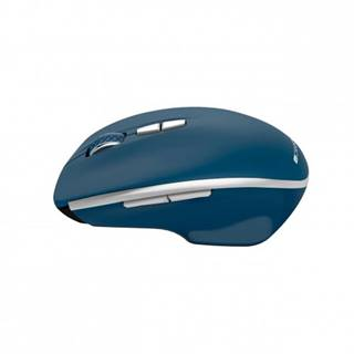Bezdrôtová myš Canyon MW-21BL, 1600 dpi, 7 tl, modrá + Zdarma podložka Olpran