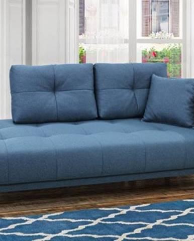 Leňoška Bony s úložným priestorom, pravá strana, modrá