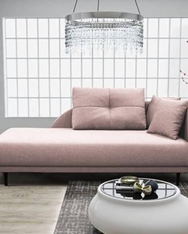 Leňoška Ize s úložným priestorom, pravá strana, ružová