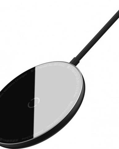 Magnetická nabíjačka na iPhone 12 series SM Baseus, 15 W, čierna