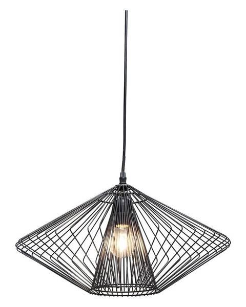 Kare Design Čierne závesné svietidlo Kare Design Modo