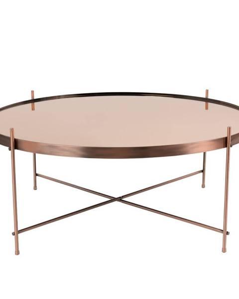 Zuiver Konferenčný stolík v medenej farbe Zuiver Cupid XXL