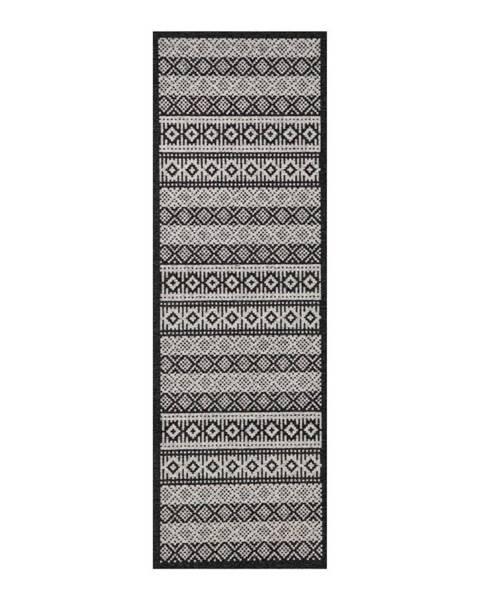 Hanse Home Krémovo-čierny behúň Zala Living Cook & Clean Ella, 60×180cm