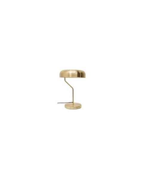 Dutchbone Mosadzná stolová lampa Dutchbone Eclipse