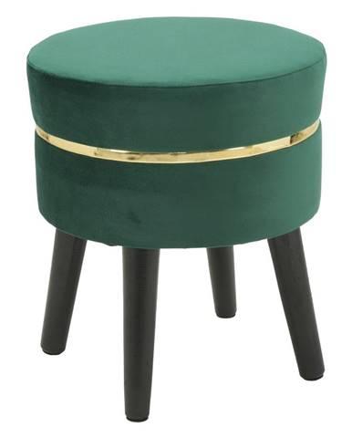 Smaragdovozelená stolička Mauro Ferretti Paris