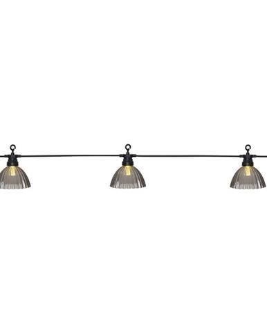 Vonkajšia svetelná LED reťaz Best Season Circus Shade, 12 svetielok