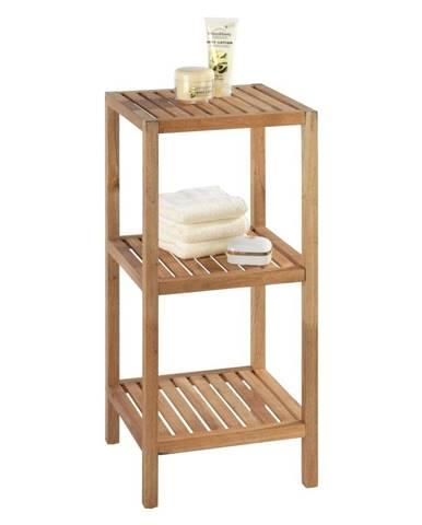 Kúpeľňový regál z orechového dreva s 2 policami Wenko Norway