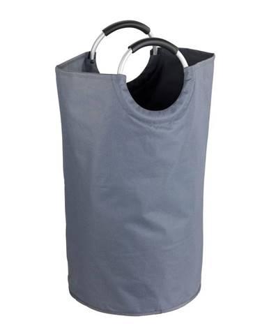 Sivý kôš na prádlo Wenko Jumbo, 69 l