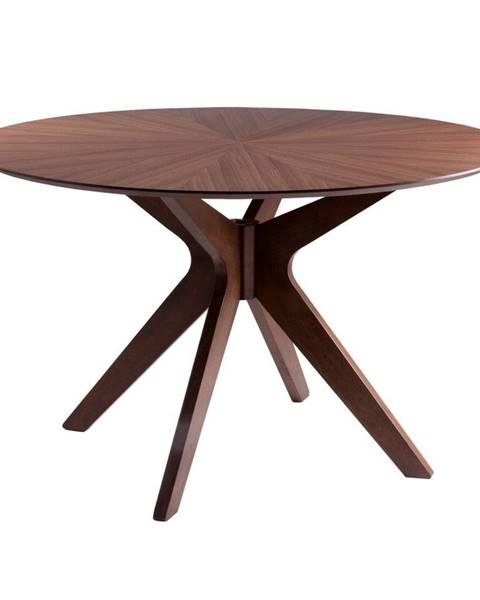 sømcasa Jedálenský stôl vdekore orechového dreva sømcasa Carmel, ⌀120cm