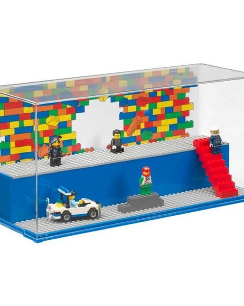 LEGO® Modrá herná a zberateľská skrinka LEGO®
