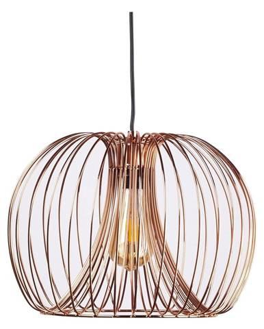 Závesné svietidlo v zlatej farbe sømcasa Verger, ø 26 cm