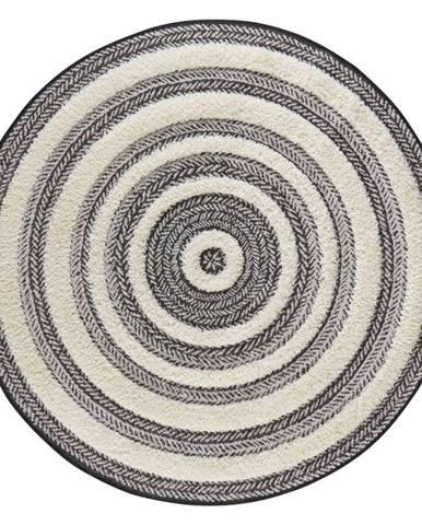Sivo-biely koberec Mint Rugs Handira Circle,⌀160cm