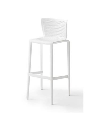 Barová Stolička Spiker Plast Biela