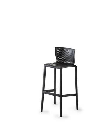 Barová Stolička Spiker Plast Čierna