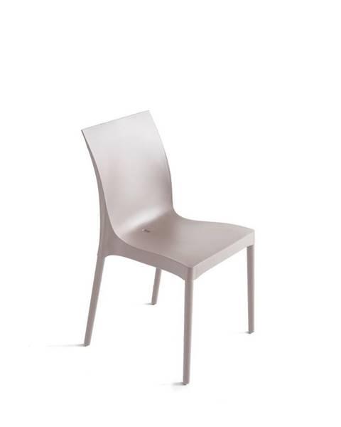 Möbelix Plastová stolička Eset Piesková