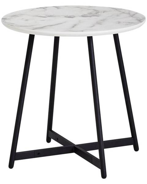 Möbelix Príručný stolík Vzhľad Mramoru
