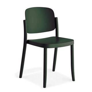 Plastová stolička Plaza Zelená