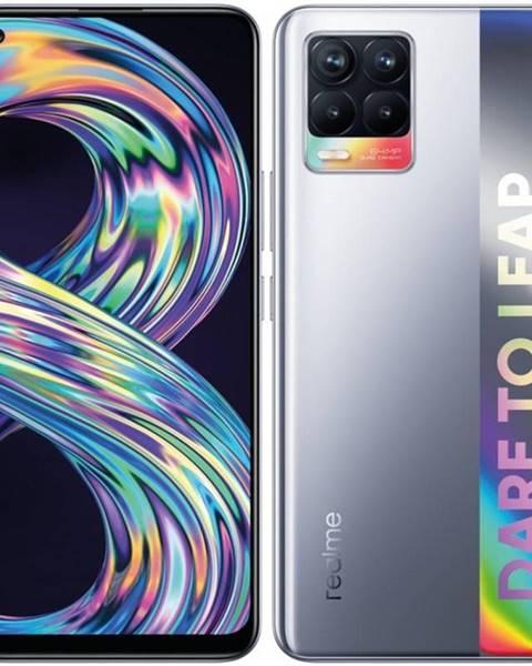 Realme Mobilný telefón realme 8 64 GB - Cyber Silver