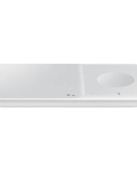 Samsung Bezdrôtová nabíjačka Samsung Duo Pad, 9W, bez kabelu biela