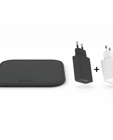 Bezdrôtová nabíjačka Zens Starter Kit - Single Wireless 10W, QC 3.0