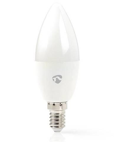 Inteligentná žiarovka Nedis svíčka, Wi-Fi, 4.5W, 350lm, E14, teplá