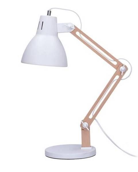 Solight Stolná lampička Solight Falun, E27 biela