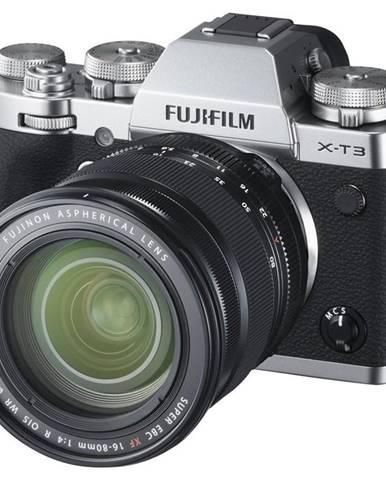 Digitálny fotoaparát Fujifilm X-T3 + XF16-80 mm strieborn