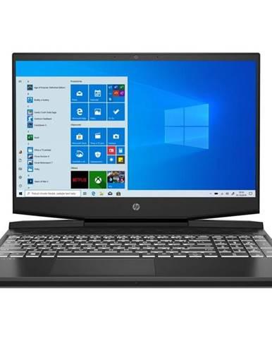 Notebook HP Pavilion Gaming 15-dk1006nc čierny/biely