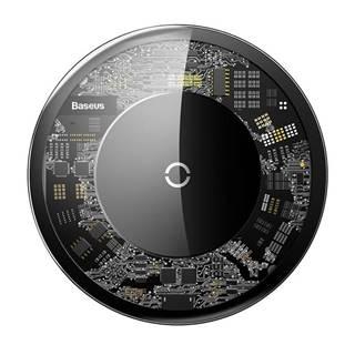 Bezdrôtová nabíjačka Baseus 10W - crystal