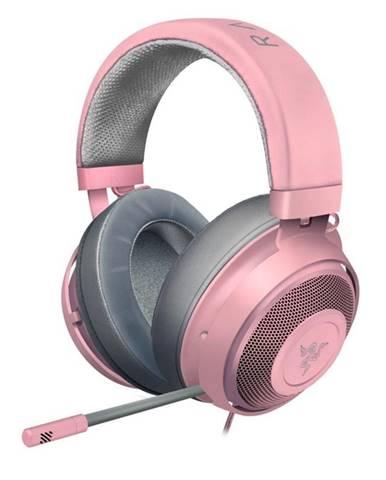 Headset  Razer Kraken, Quartz ružový