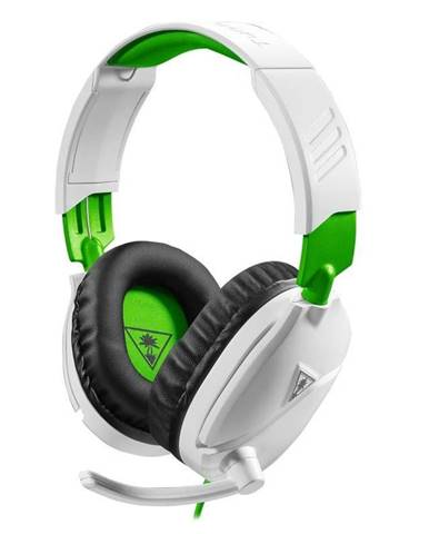 Headset  Turtle Beach Recon 70X pro Xbox One, PS4, Nintendo biely