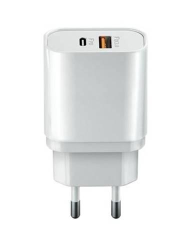 Nabíjačka do siete Forever Core 1x USB-C PD , 1x USB QC 3.0, 20W