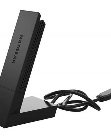WiFi adaptér Netgear A6210, USB 3.0 čierny