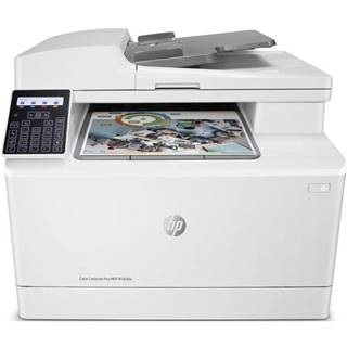Tlačiareň multifunkčná HP Color LaserJet Pro MFP M183fw biely