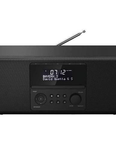 Rádioprijímač s DAB+ Hama Dr1550cbt, CD/BT čierny