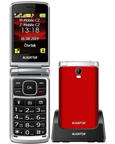 Mobilný telefón Aligator V710 Senior Dual SIM červený