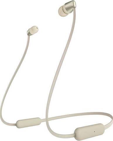 Slúchadlá Sony WI-C310 zlatá