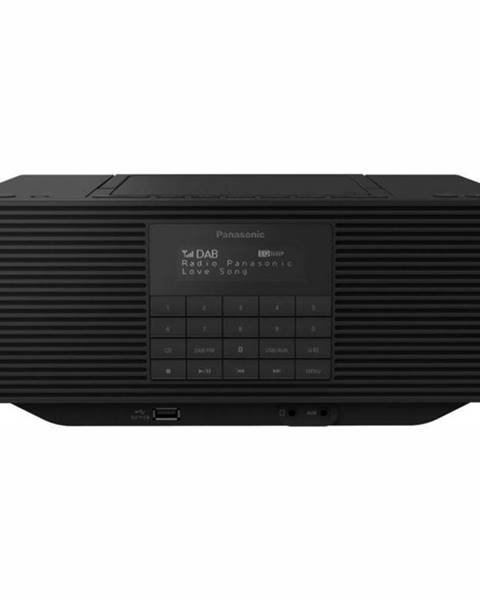 Panasonic Rádioprijímač s DAB+ Panasonic RX-D70bteg-K čierny