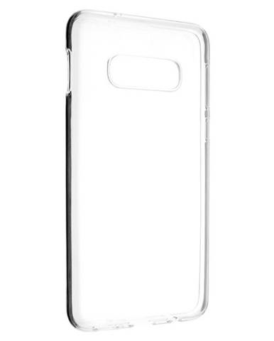 Kryt na mobil Fixed Skin na Samsung Galaxy S10e priehľadný
