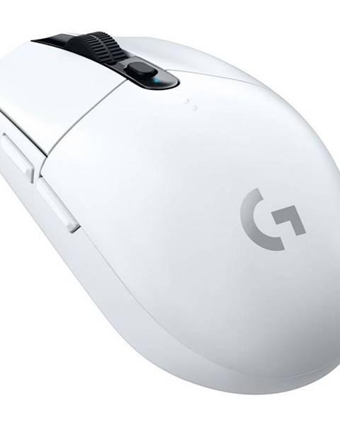 Logitech Myš  Logitech Gaming G305 Lightspeed Wireless biela