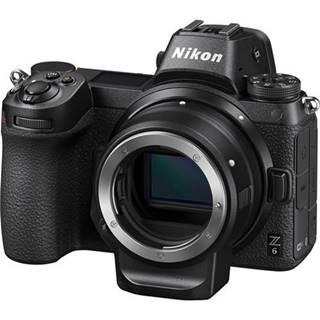 Digitálny fotoaparát Nikon Z6 + adaptér bajonetu FTZ KIT čierny
