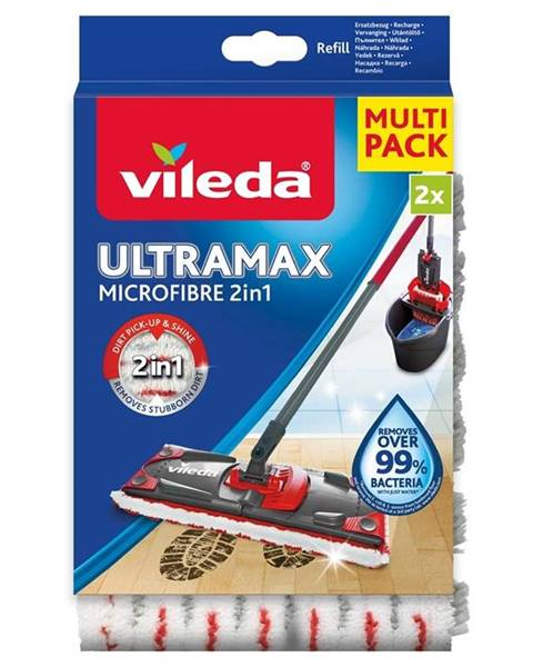 Vileda Návlek na mop Vileda Ultramax Microfibre 2v1 náhrada 2ks